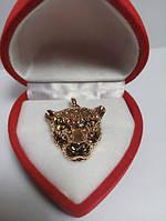 56 грн Позолочений кулон гепард ювелірна BG28 - (кільця, барслеты,ланцюжки, сережки,прикраси,подарунки)
