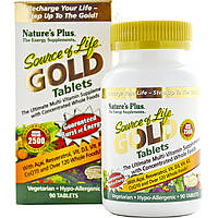 Натуральные витамины Nature's Plus, Source of Life Gold 90 таблеток