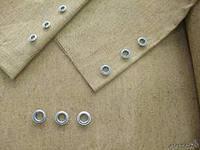 Брезентовые шторы с люверсами(кольцами)
