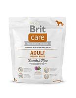 BRIT Care Adult Medium Breed Lamb & Rice1 kg