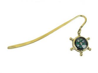 Оригинальная закладка для книг Sea Club с компасом купить в Украине