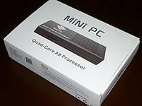 Медиаплеер четырехъядерный Android Smart TV box MK908, фото 1