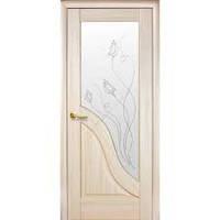 """Ламинированные двери """"Новый стиль"""" Херсон. Модель """"Амата"""" р1 цвет:каштан,ясень,золотая ольха,венге"""