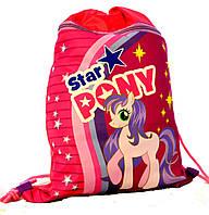 """Сумка для сменной обуви """"Star Pony"""" 77791"""