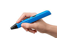 3д ручка RP 600А 3D pen (синий) + набор пластика 12 цветов в подарок, фото 1