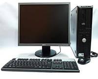 Брендовый компьютер с монитором, колонками, мышкой и клавиатурой!