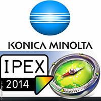 Konica Minolta примет участие в Ipex 2014