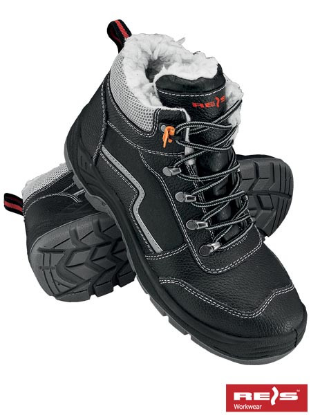 Защитные ботинки утепленные BRYETI