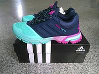 Кроссовки женские беговые Adidas Marathon (адидас) синие