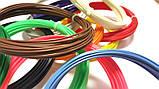 Набор ABS пластика 120 метров для 3д ручек 12 цветов по 10 метров, фото 3