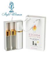 Набор мини парфюмерии Escada Rockin Rio Эскада Рокин Рио с феромонами3*15мл