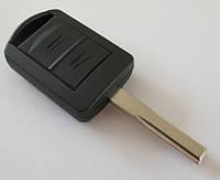Корпус ключа OPEL 2 кнопки лезвие HU43, фото 1