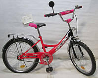 Велосипед EXPLORER 20 T-22011 crimson + black