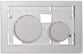 Клавиша ТЕСЕloop modular белая антибактериальная, фото 1