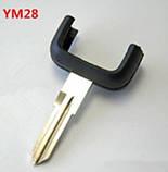 Корпус ключа Opel 2 кнопки лезвие YM28, фото 2