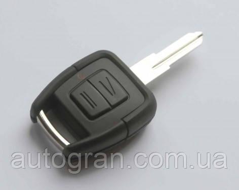 Корпус ключа Opel 2 кнопки лезвие YM28