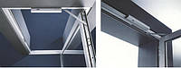 Доводчик GEZE BOXER EN 2-4 вбудований в дверне полотно