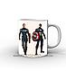 Кружка Капитан America, фото 3