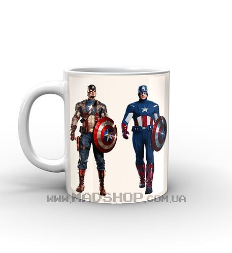 Кружка Капитан America
