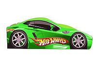 """Кровать машина """" Хот Вилс"""" зелёный"""