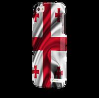 Чехол-накладка для iPhone 5/5S Грузия