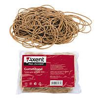 Резинки для денег Axent натуральный каучук 500 г (4632-А0