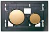 Клавиша ТЕСЕloop modular позолоченная