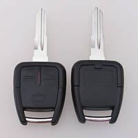 Корпус ключа Opel  3 кнопки лезвие HU46