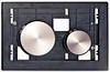 Клавиша ТЕСЕloop modular нержавеющая сталь, сатин