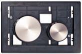 Клавиша ТЕСЕloop modular нержавеющая сталь, сатин, фото 1