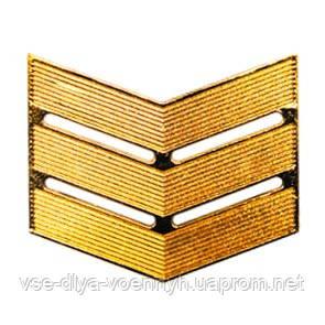 Лычка МВС сержанта золото