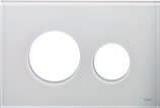 Лицевая панель ТЕСЕloop modular белое стекло
