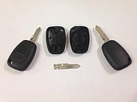 Корпус ключа Opel Vivaro 2 кнопки