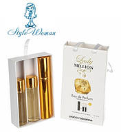 Набор мини парфюмерии Paco Rabanne Lady Million Пако Рабанн Леди Миллион с феромонами3*15мл