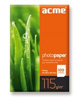Фотобумага глянцевая 115г/м2 A4 (100л) Acme