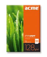 Фотобумага матовая 128г/м2 A4 (100л) Acme
