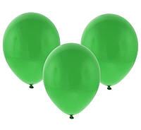 Воздушный шарик 10 дюймов зеленый