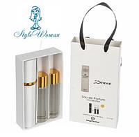 Набор мини парфюмерии Sergio Tacchini Donna Серджио Таччини Донна с феромонами3*15мл