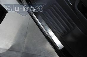 Накладки на пороги Volkswagen T5 Transporter/ Caravelle/ Multivan