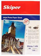 Фотобумага матовая 128г/м2 A4 (100л) Skiper