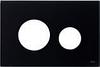 Лицевая панель ТЕСЕloop modular стекло, черный