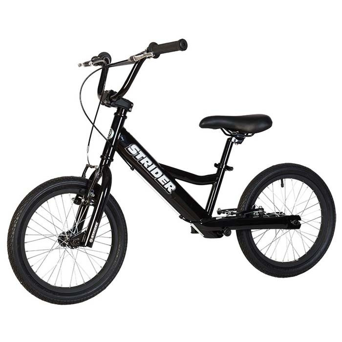 Велосипед без педалей Strider 16 Sport bmx, black (STR)