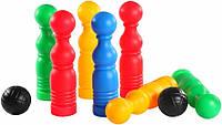 Развивающая игрушка Боулинг 12 элементов