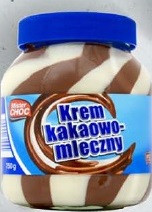 Шоколадно-молочный крем Mister Choc, 750 гр