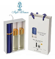 Набор мужской мини парфюмерии Givenchy Blue Label Живанши Блю Лейбел с феромонами3*15мл