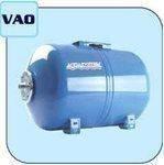 Гидроаккумуляторы для систем водоснабжения Aquasystem  VAO 24 , 24 л. горизонтальный