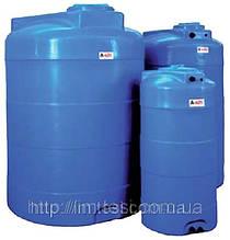 Накопительный бак для воды и других жидкостей ELBI CV 1000, емкость 1000л, круглый вертикальный