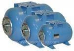Гидроаккумуляторы для систем водоснабжения Aquasystem   VAO 35 , 35 л. горизонтальный, фото 3