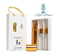 Набор мужской мини парфюмерии Paco Rabanne 1 Million Пако Рабанн 1 Миллион с феромонами3*15мл