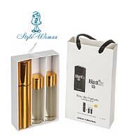 Набор мужской мини парфюмерии Paco Rabanne Black XS Homme Пако Рабан Блэк XS Хом с феромонами3*15мл